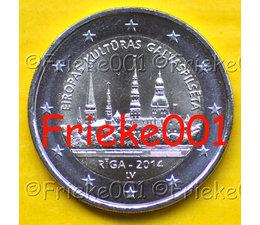 Latvia 2 euro 2014 comm.(Riga)