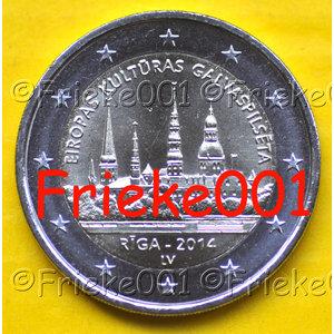 Letland 2 euro 2014 comm.(Riga)