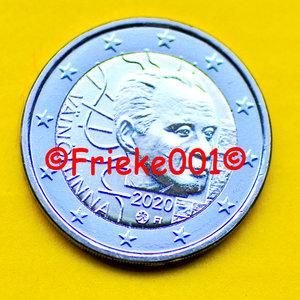 Finland 2 euro 2020 comm.(Vaino Linna)