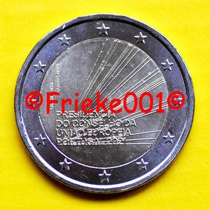 Portugal 2 euro 2021 comm.(Présidence de l'Union européenne)