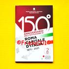 Italie 2 euro 2021 comm sous blister.(Capitale de L'italie)