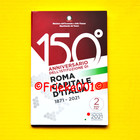 Italy 2 euro 2021 comm in blister.(Capital of Italy)