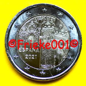 Espagne 2 euro 2021 comm.(Tolède)
