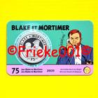 Belgique 5 euro 2021 sous blister.(Blake et Mortimer)