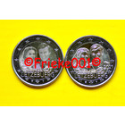 Luxembourg 2x 2 euro 2021 comm.(Marriage) (relief and photo)