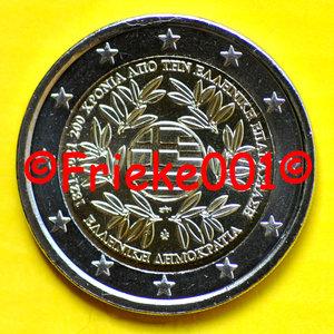 Griekenland 2 euro 2021 comm.(200 jaar revolutie)