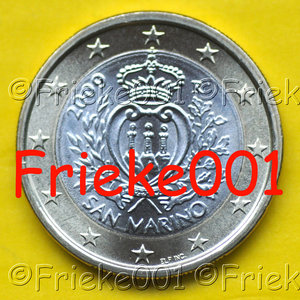 San marino 1 euro 2009 unc