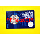 France 2 euro 2021 comm in coincard.(Olympic games 2024) blue