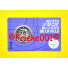 France 2 euro 2021 comm in coincard.(Olympic games 2024) purple