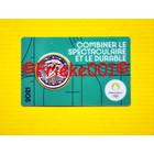 France 2 euro 2021 comm in coincard.(Olympic games 2024) green
