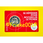 France 2 euro 2021 comm in coincard.(Olympic games 2024) red
