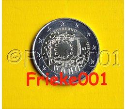 Netherlands 2 euro 2015 comm.(30 years european flag)