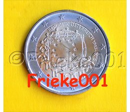 Austria 2 euro 2015 comm.(30 years european flag)