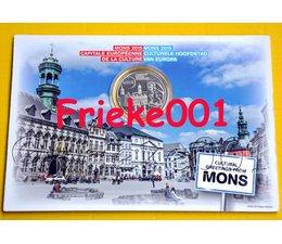 Belgium 5 euro 2015 in blister.(Mons)