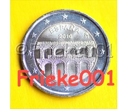 Spanje 2 euro 2016 comm.(Aquaduct)
