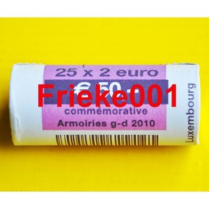Luxemburg 2 euro rol 2010 comm