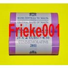 Malte 2 euro rouleau 2011 comm