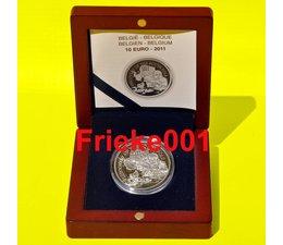 België 10 euro 2011 proof.(Zuidpool)