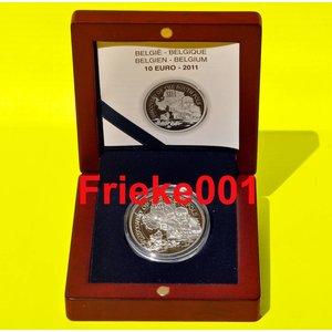 Belgium 10 euro 2011 proof.(Antarctic)