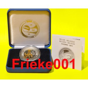 België 10 euro 2011 proof.(Piccard)