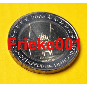 Allemagne 2 euro 2006 comm