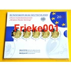 Duitsland 5x 2 euro 2013 comm elysee proof in blister