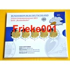 Germany 5x 2 Euro 2013 comm proof in blister