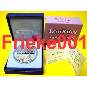 Frankrijk 1,50 euro 2008 proof.(Lourdes)