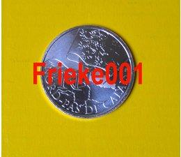 France 10 euro 2010 unc.(Nord pas de calais)