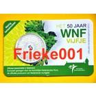 Nederland 5 euro 2011 50 jaar wnf