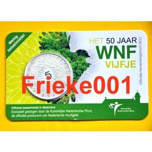 Pays-Bas € 5 2011 50 années WWF