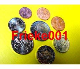 Austria 2007 unc with 2 euro vvr