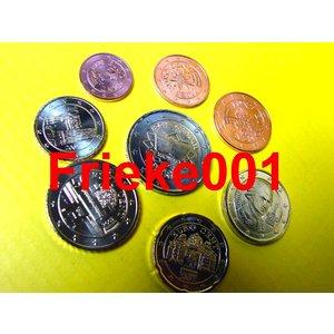 Oostenrijk 2007 unc met 2 euro vvr