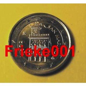 San marino 2 euro 2002 unc