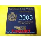 San Marin 2005 bu.(Avec 5 euro)