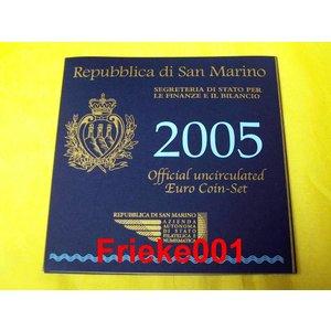 San Marino 2005 bu.(met 5 euro)