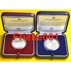 San Marino 5 and 10 euro 2011 proof