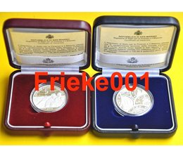 San Marino 5 and 10 euro 2011 proof