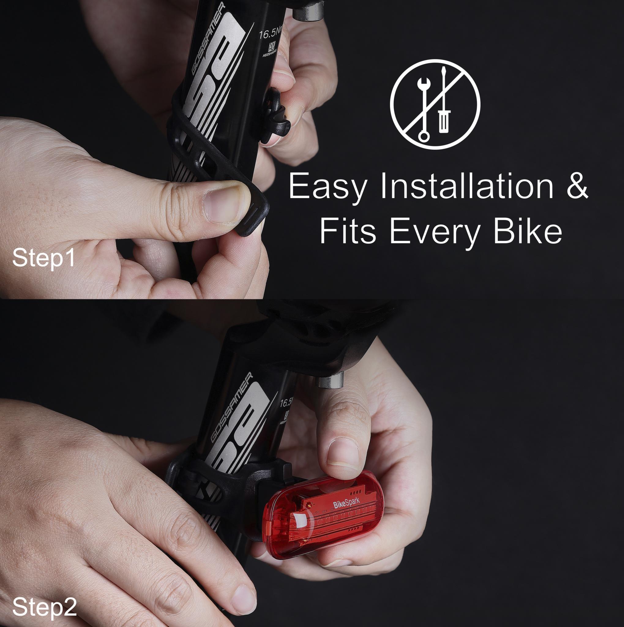 Automatisches Fahrrad Rück-Bremslicht