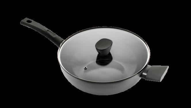 Avon keramische wok met deksel 28 CM