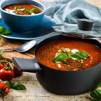 Verse tomatensoep (vegan)