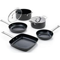 Murray Super-Combi-Grill - Pfanne 20 & 24 CM - Topf 20 & 24 CM - Grillpfanne 26 CM - Edelstahlgriffe
