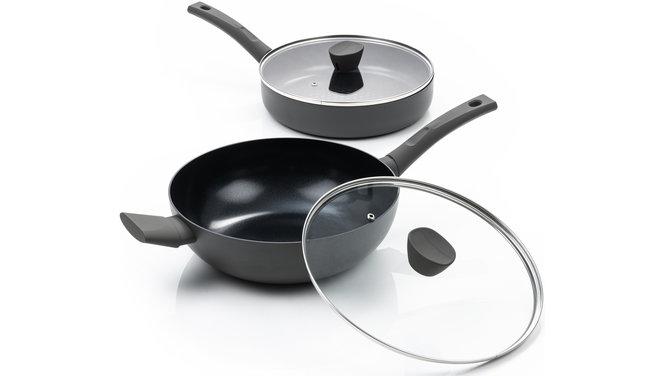 Avon Combideal keramische hapjespan en wokpan