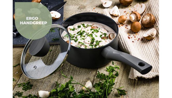 Avon Chef Culinair set  - Pannenset 9 delig - Ergo grepen