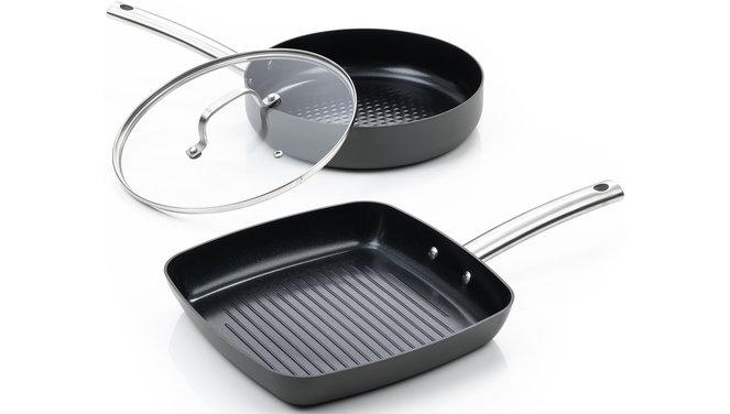 Murray Combi-Deal keramische Grillpfanne und Bratpfanne