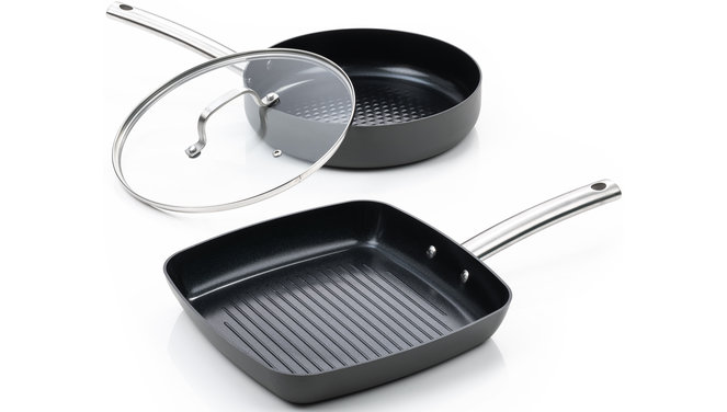 Murray Combideal keramische grillpan en hapjespan