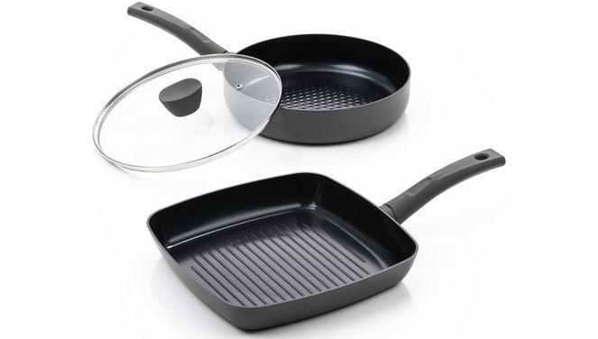 Avon Combi-Deal keramische Grillpfanne und Bratpfanne