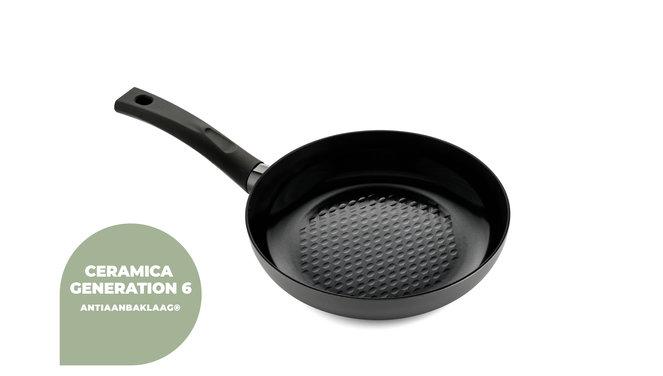 Avon Combi-Deal keramische Grillpfanne und Bratpfanne 24 & 28 CM - Ergogriffe