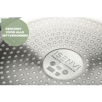 ISENVI Murray keramischer Topf 24 cm - Edelstahlgriff