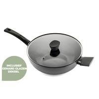 Avon keramische wok met deksel 36 CM - Ergo greep